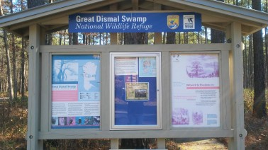 20171221_111748 Dismal Swamp Welcome Station