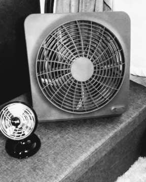 O2Cool Fan and Sharper Image Personal Fan